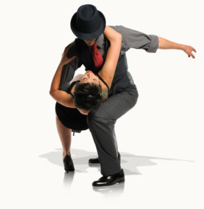 Photo of dancers performing the Argentine Tango