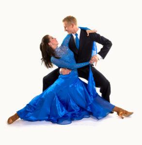 Bolero dancing young couple 03