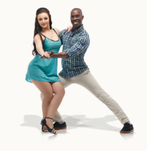 Photo of couple performing a Hustle dance 03