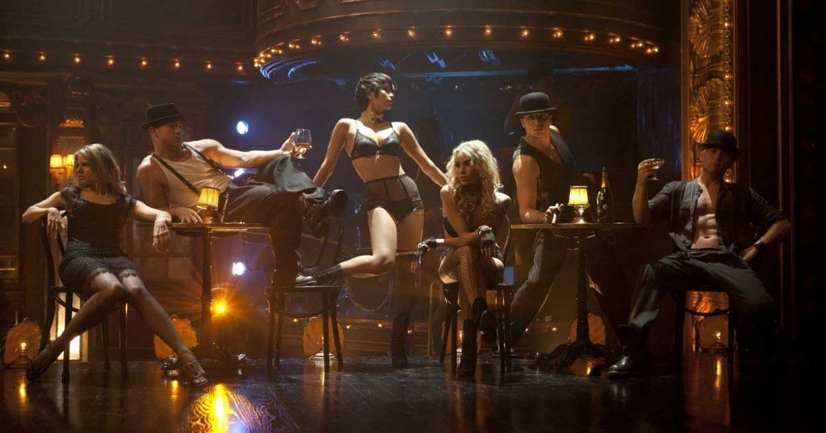 Shot from a dance film - Burlesque