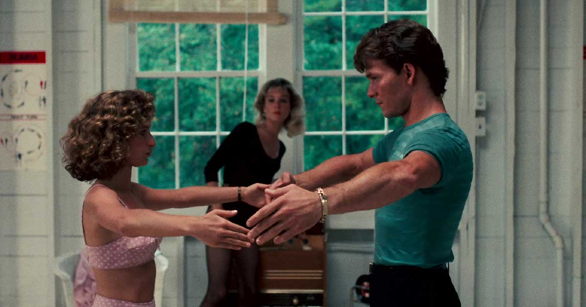 Shot from a dance film - Dirty Dancing 01