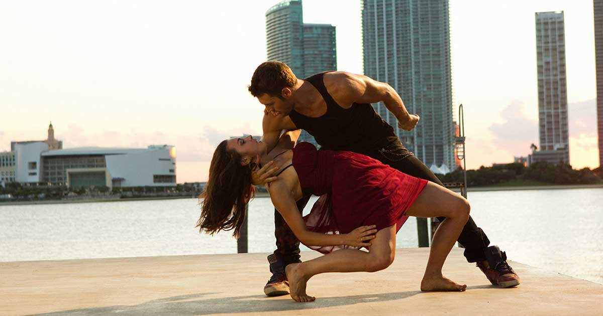 Shot from a dance film - Step Up Revolution