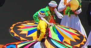 Dancer performs Egyptian Tanoura - 02