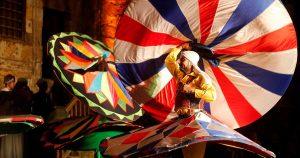 Dancer performs Egyptian Tanoura - 03